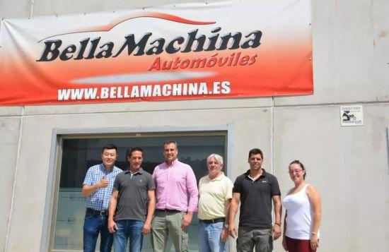 Bella Machina车行团队